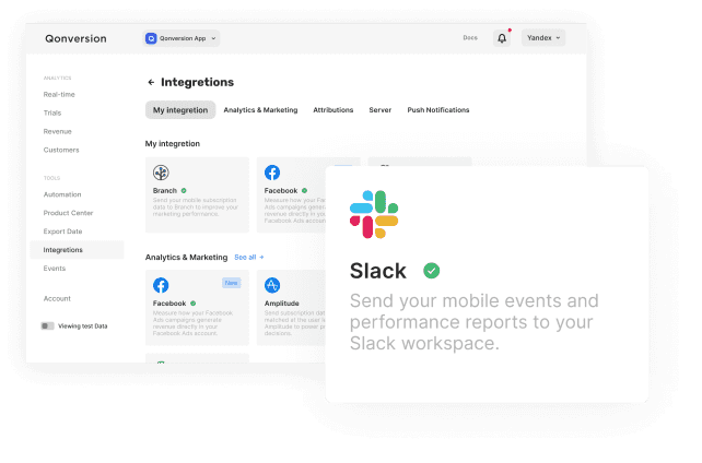 Set up the aggregated app performance reports to be posted automatically to your slack channel